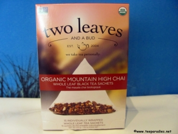 "two leaves and a bud ""Bio Mountain High Chai Tea"" 37,5 g."
