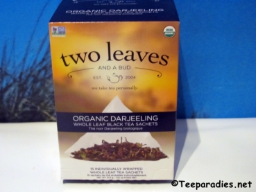 "two leaves and a bud ""Bio Darjeeling Black Tea"" 37,5 g."