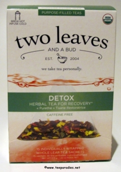 "two leaves and a bud ""Bio Detox Tee"" 37,5 g."