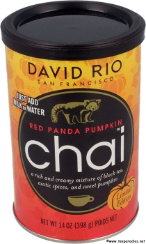 "David Rio Chai ""Red Panda Pumpkin"" 398 g. (MHD Ware)"