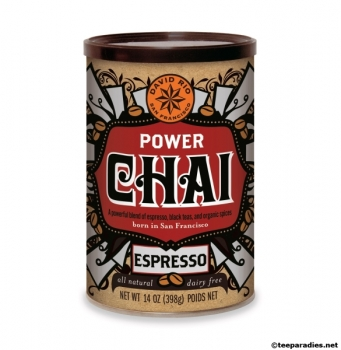 "David Rio Chai Latte ""Power Chai Espresso"" 398 g."
