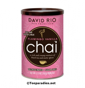 "David Rio Chai Latte 337g ""Flamingo Vanilla"""