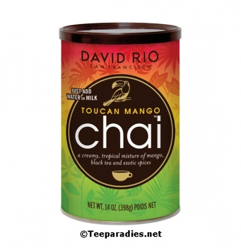 "David Rio Chai Latte 398g ""Toucan Mango"""