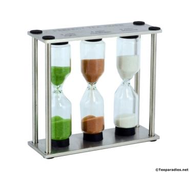 sanduhr perfect tea aus edelstahl. Black Bedroom Furniture Sets. Home Design Ideas