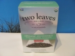 "two leaves and a bud ""Bio Peppermint Herbal Tea"" 15 Beutel 22,5 g."